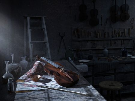 The Atelier of Antonio Stradivari