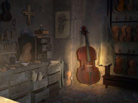 The Atelier of Antonio Stradivari  (II)