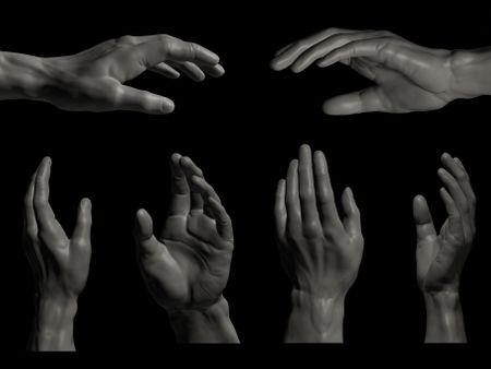 #WeeklyDrills016 --  Human Hand