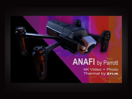 #WeeklyDrills040 -- ANAFI 4k Thermal Drone