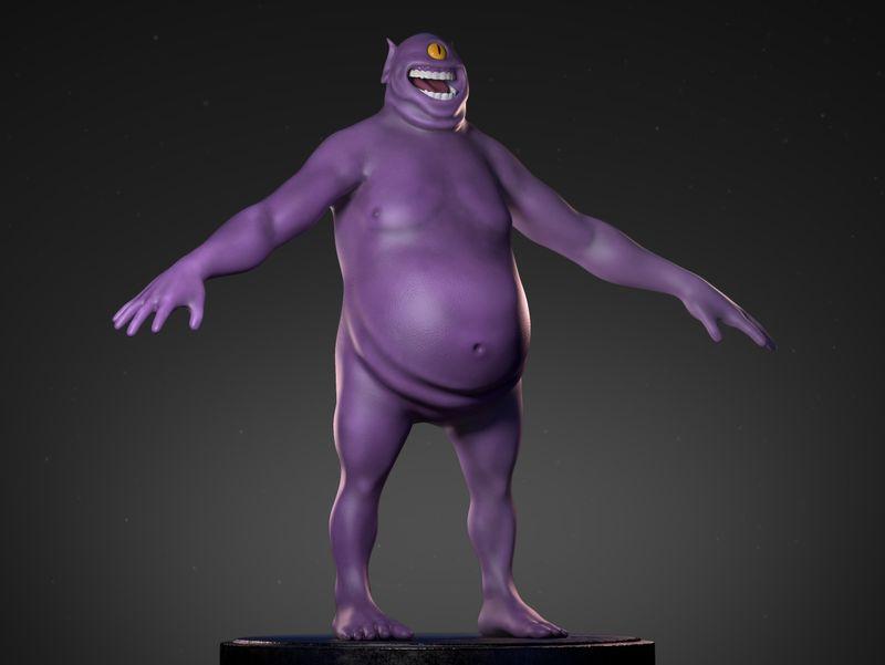 Purple Troll