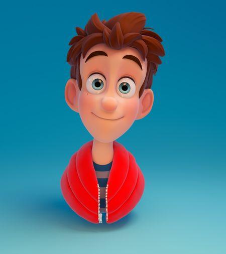Cartoon Boy