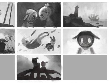 bnw and colour thumbnails