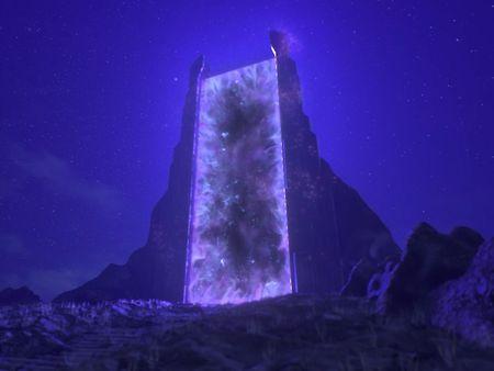Portal FX Animation
