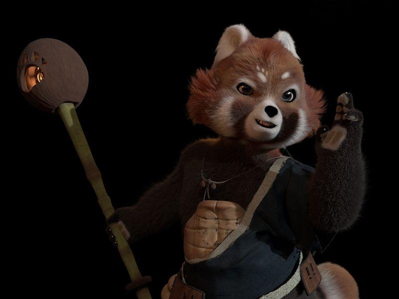 The Red Panda - Fury Flame