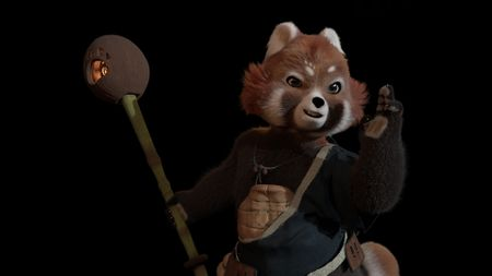 Red Panda -The Fury Flame
