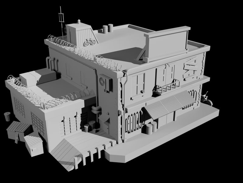 3D Model Fallout House