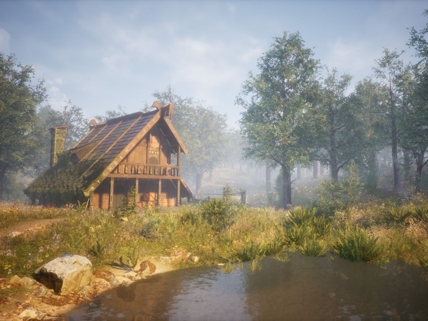 House Environment Unreal Engine by Lauro Gutierrez