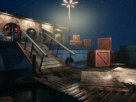 Unreal Engine Water Front Splash Damage