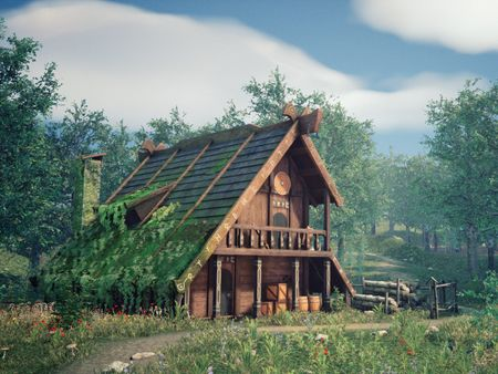 Medieval House UE4