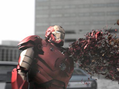 Iron Man DissolveEffect