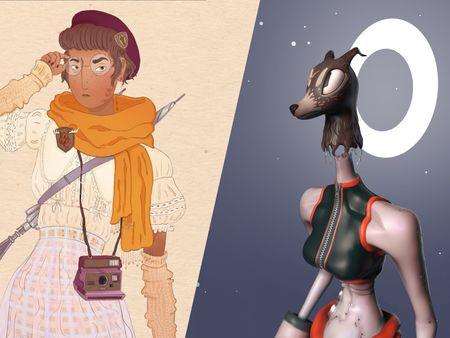 Grace Surmon: Creature & Character Design 2021