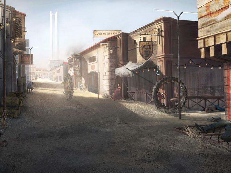 Wild West x Steampunk