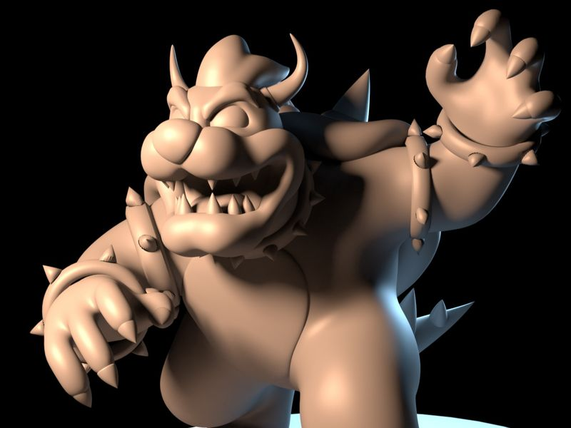 [WIP] Bowser (3D Sculpt)