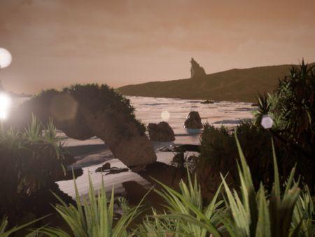 UE4 Beach Scene