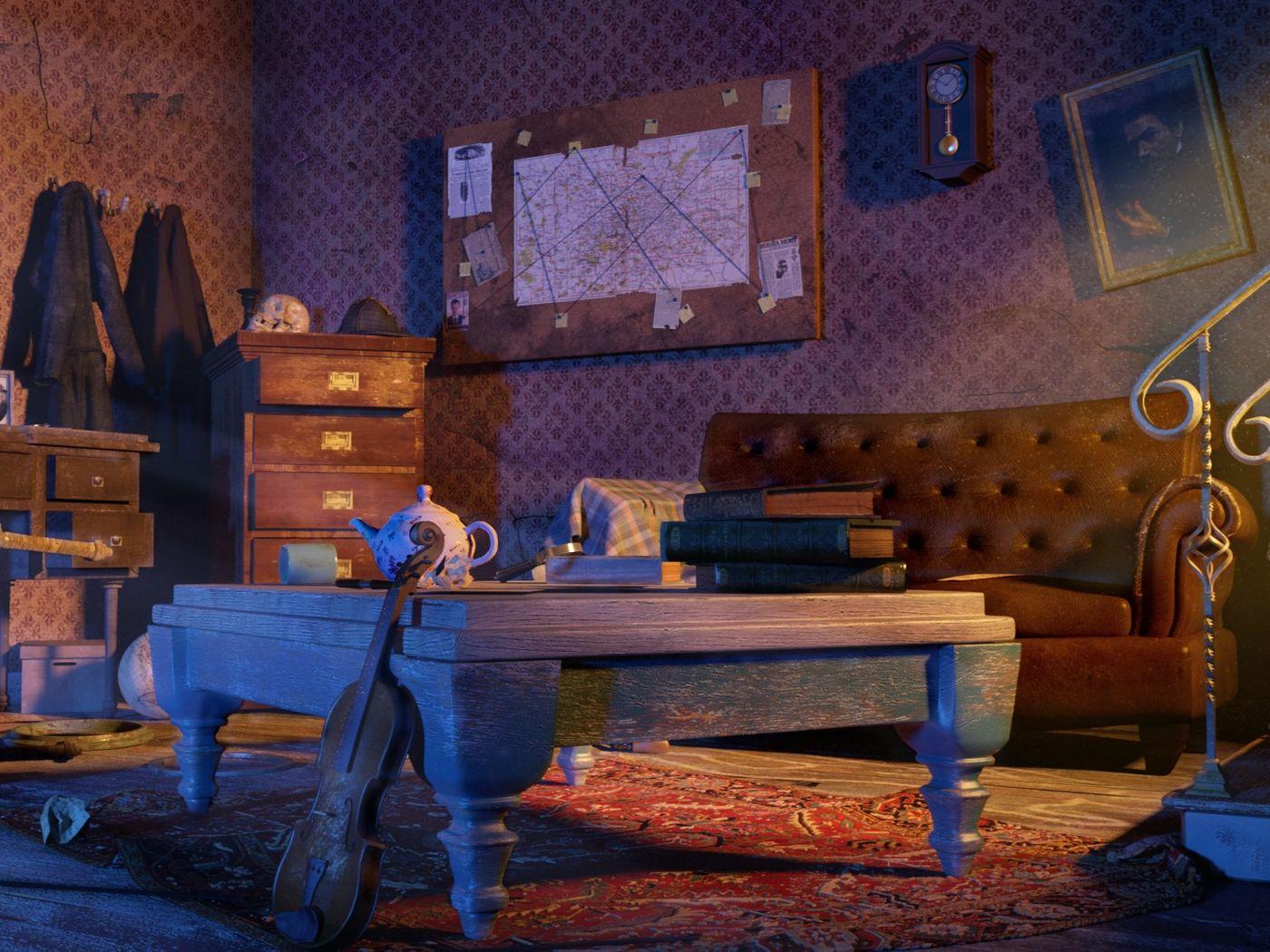 Sherlock's Holmes Dressing Room