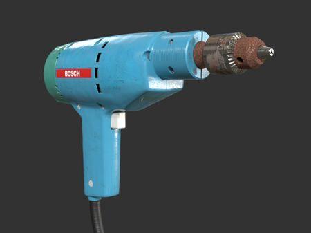 Vintage Power Drill