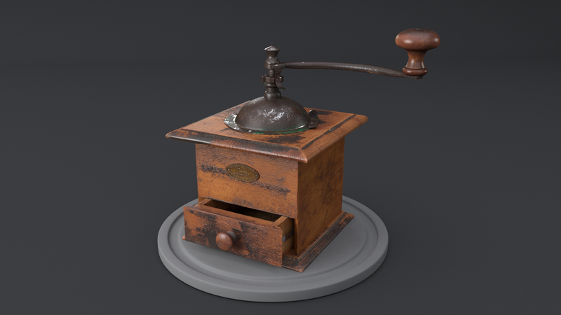 ESMA 1st year Project - Coffee Grinder