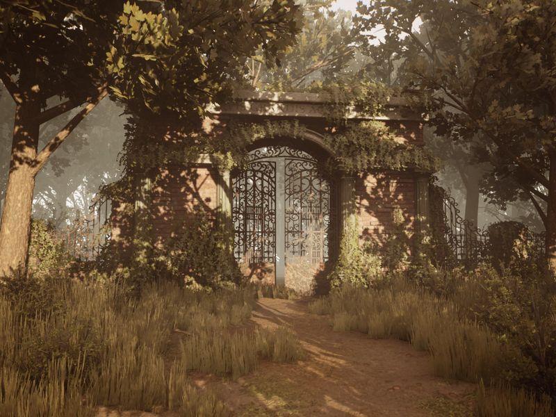 Abandoned 18th Century Entrance