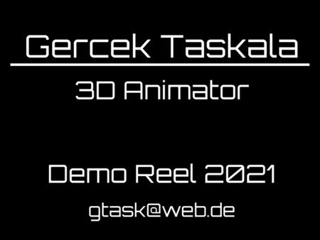 Demoreel 2021 - Gercek Taskala