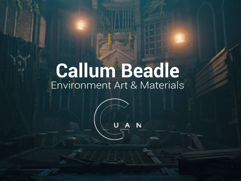 Callum Beadle 3D Environment & Material Art showcase