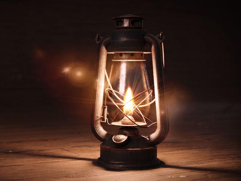 Vintage Oil Lantern