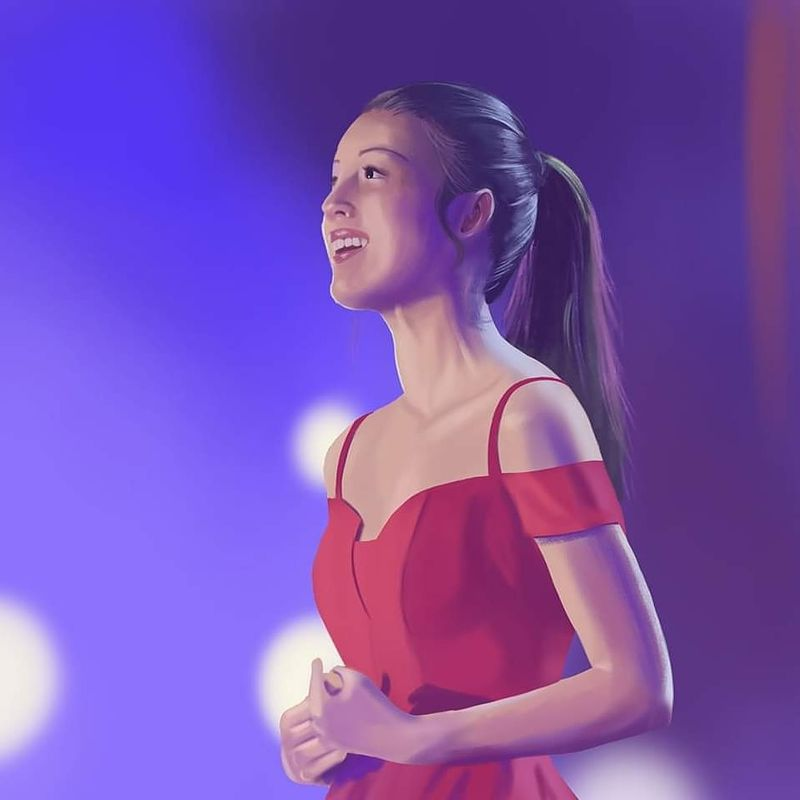 Portrait of Olivia Rodrigo