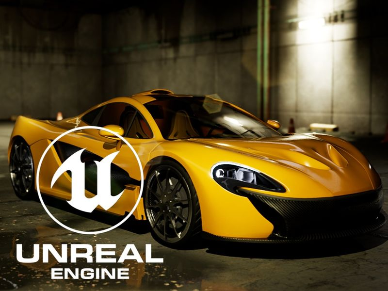 McLaren P1 | Unreal Engine 4