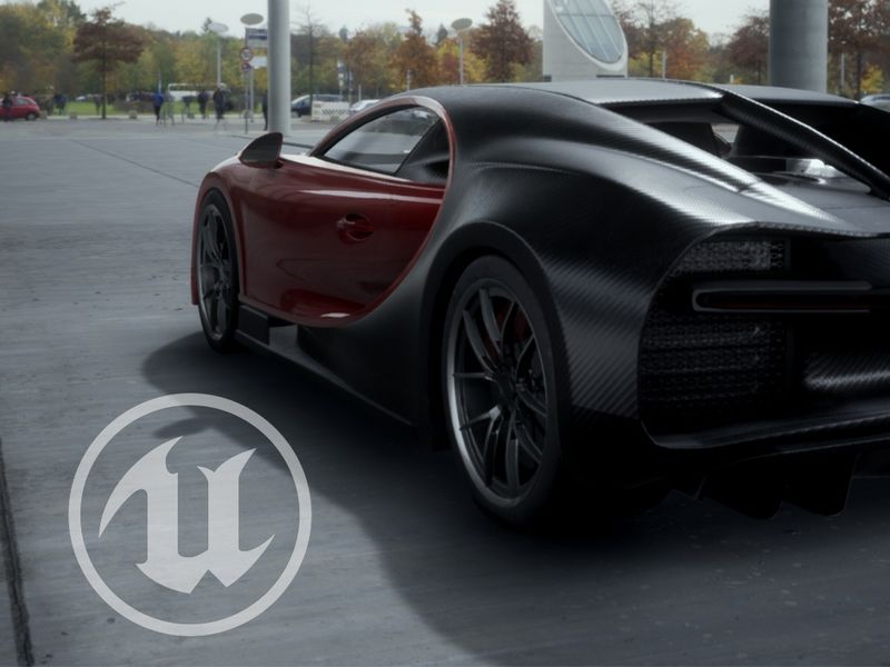 Bugatti Chiron | Unreal Engine 4
