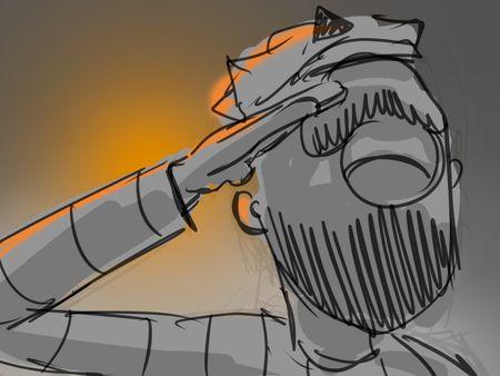 """Storyboard """"Kapitan"""""""