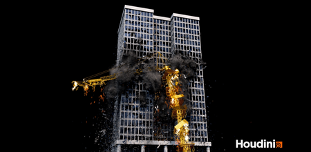 houdini building destruction breakdown