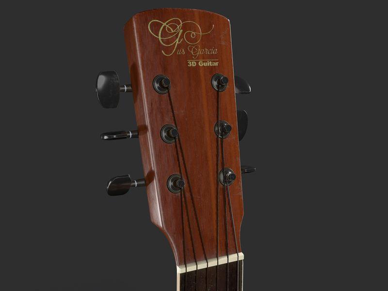 3D Guitar - The Prop