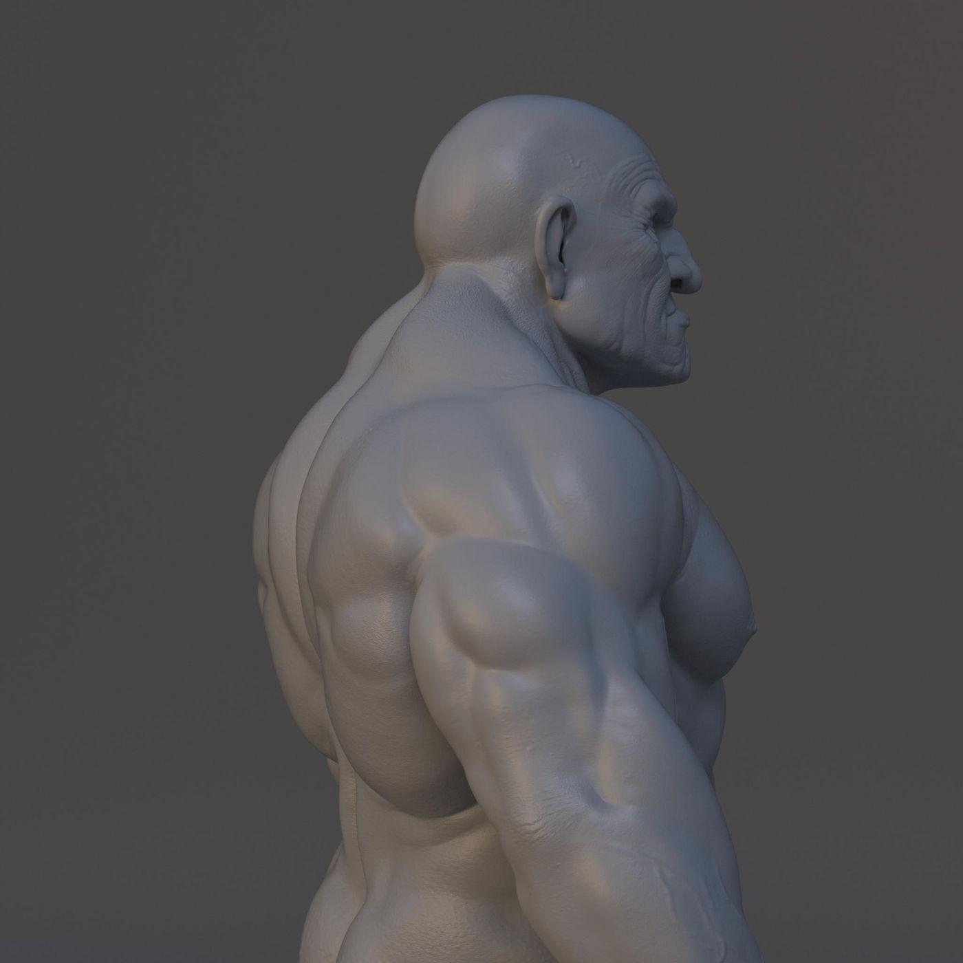 Dwarf Grey Progress V001 091 Gustavoordonez