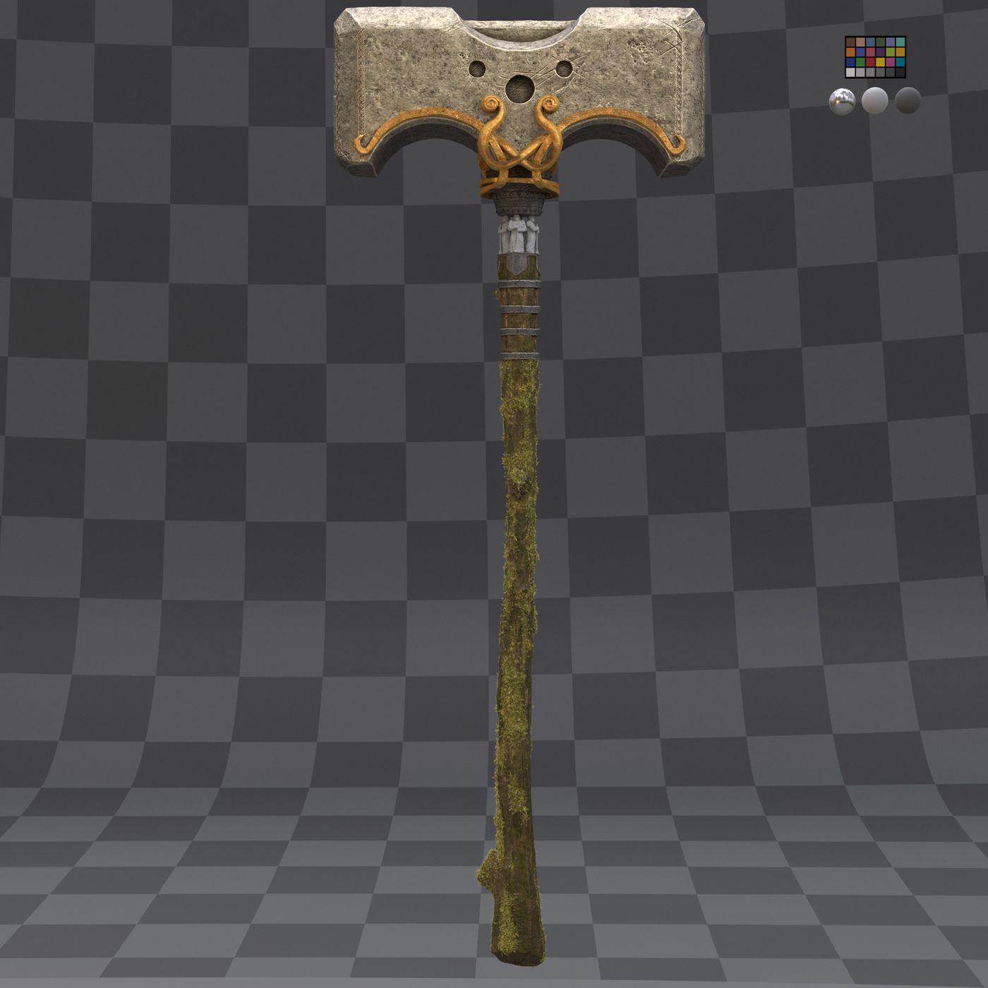 Hammer Color Progress V001 003 Gustavoordonez
