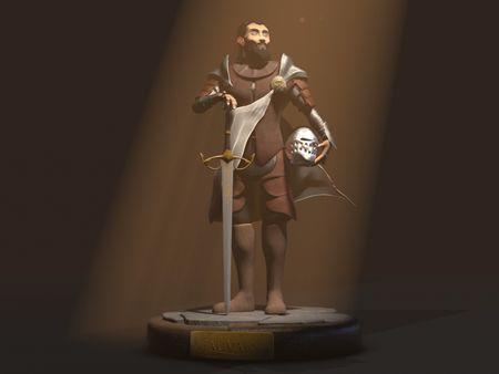 Gauvain, the solar Knight