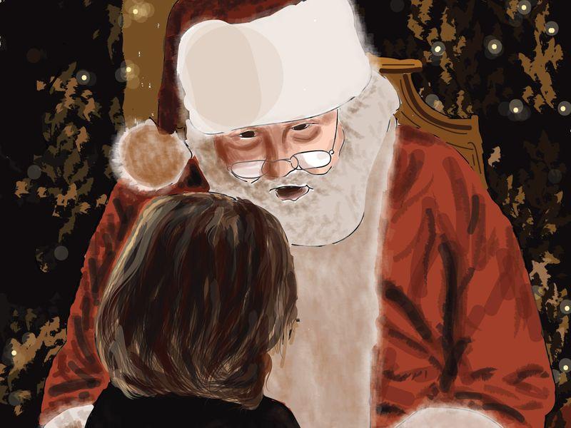 Santa Claus 🎄⛄✨