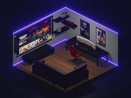 [WIP] Dream Gaming Room/Setup