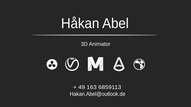 Student Animation Reel