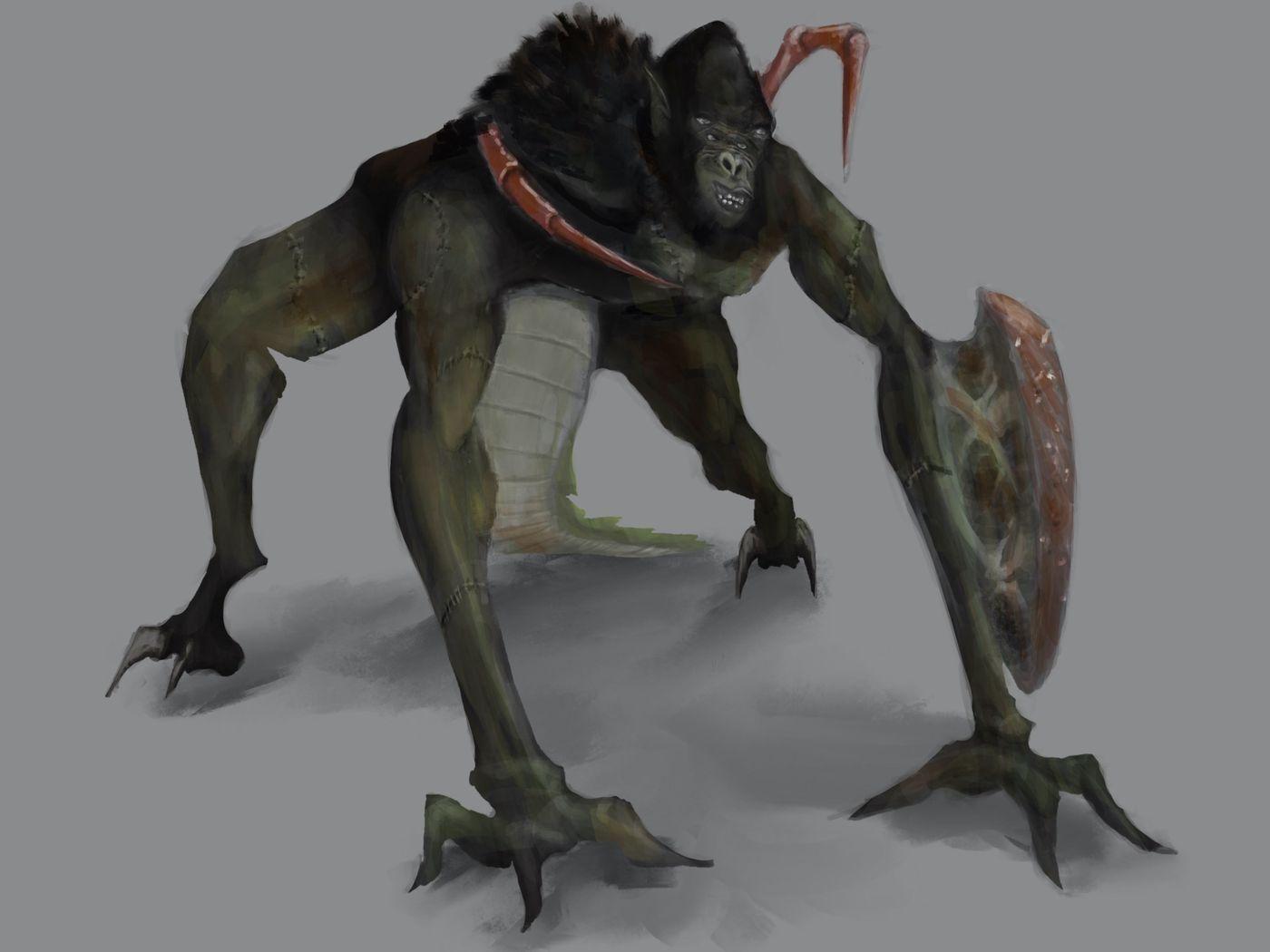 Frankenstein Chimera Concept