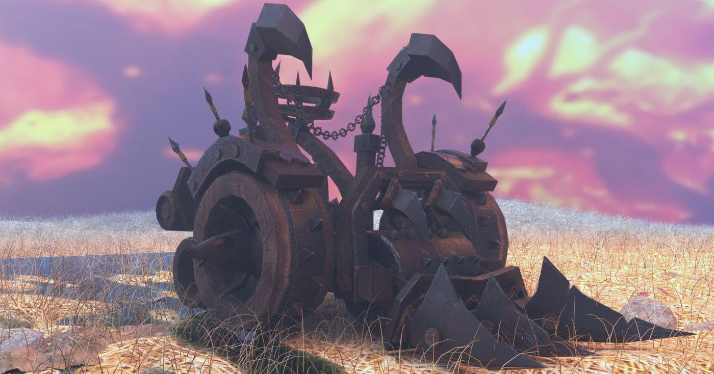 WarCraft3 Meat Wagon