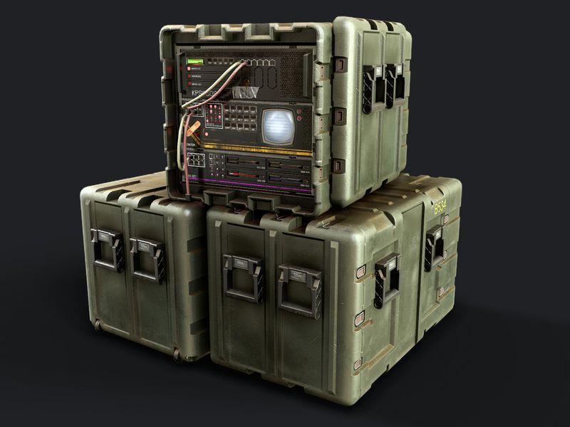 Rackmount Server Crate