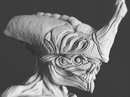 Alien concept creature
