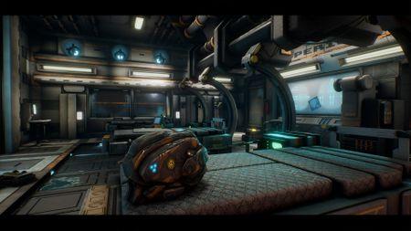 SciFi scene in Unreal Engine 4.21