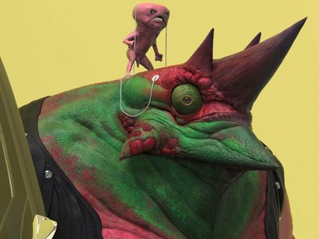 Flash Contest - Lizard Character - High Detailed  Model