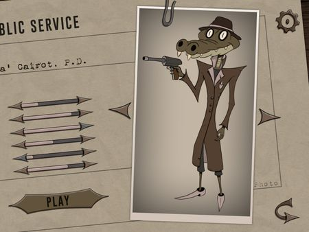 Snappa - a 2D character concept