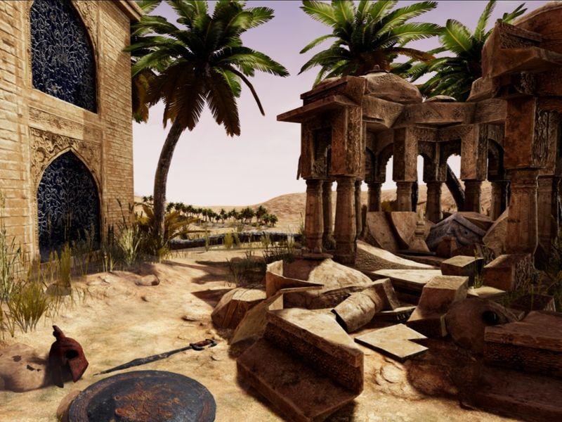 Desolate Oasis