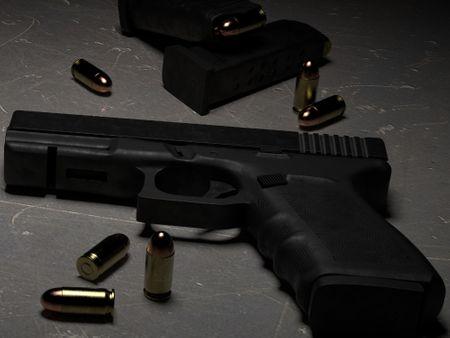 Modelling: Glock 21C Pistol