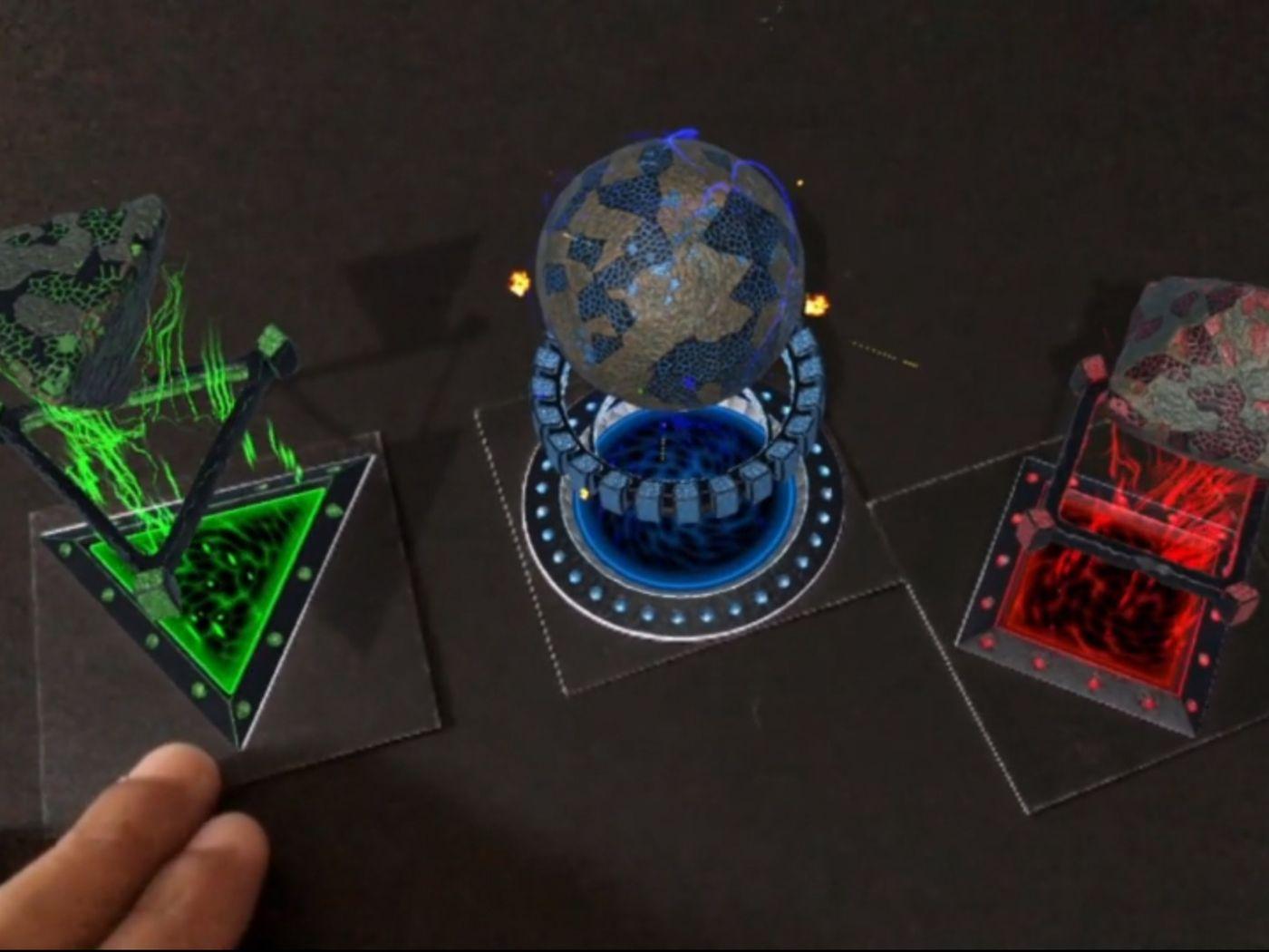 Alternate Portals: Augmented Reality VFX App