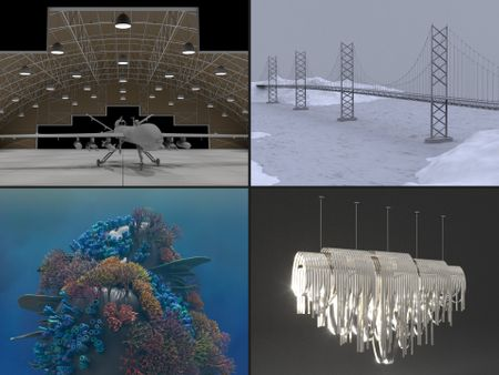 3D Generalist: Procedural Modelling Collection