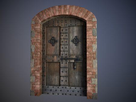 Medieval Door